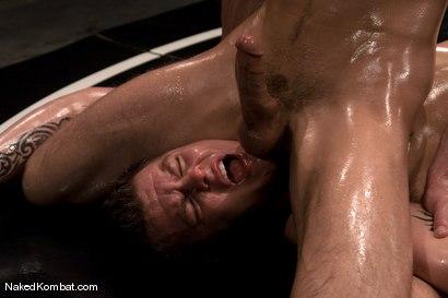 Photo number 8 from Cayden Banks vs Shane Erickson<br />The Oil Match shot for Naked Kombat on Kink.com. Featuring Cayden Banks and Shane Erickson in hardcore BDSM & Fetish porn.