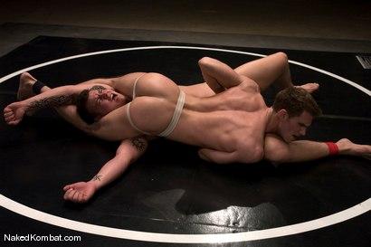 Photo number 3 from Cayden Banks vs Shane Erickson<br />The Oil Match shot for Naked Kombat on Kink.com. Featuring Cayden Banks and Shane Erickson in hardcore BDSM & Fetish porn.