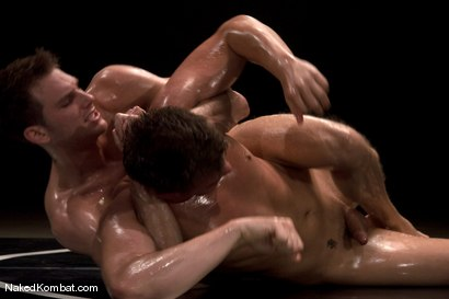 Photo number 11 from Cayden Banks vs Shane Erickson<br />The Oil Match shot for Naked Kombat on Kink.com. Featuring Cayden Banks and Shane Erickson in hardcore BDSM & Fetish porn.