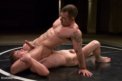 Photo number 11 from TJ Young vs Dak Ramsey shot for Naked Kombat on Kink.com. Featuring TJ Young and Dak Ramsey in hardcore BDSM & Fetish porn.