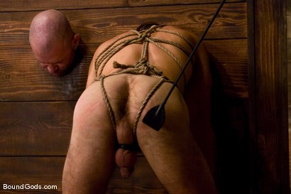Photo number 10 from Les Trois Petits Cochons shot for Bound Gods on Kink.com. Featuring Xavier St-Jude, Kurt Weber and Tober Brandt in hardcore BDSM & Fetish porn.