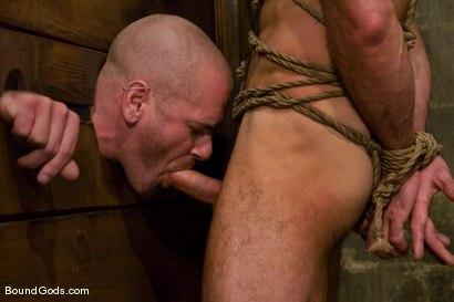Photo number 7 from Les Trois Petits Cochons shot for Bound Gods on Kink.com. Featuring Xavier St-Jude, Kurt Weber and Tober Brandt in hardcore BDSM & Fetish porn.