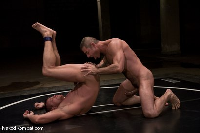 Photo number 11 from Nick Moretti vs Tyler Saint<br />The Water Match shot for Naked Kombat on Kink.com. Featuring Tyler Saint and Nick Moretti in hardcore BDSM & Fetish porn.