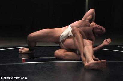 Photo number 3 from Nick Moretti vs Tyler Saint<br />The Water Match shot for Naked Kombat on Kink.com. Featuring Tyler Saint and Nick Moretti in hardcore BDSM & Fetish porn.