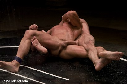Photo number 9 from Nick Moretti vs Tyler Saint<br />The Water Match shot for Naked Kombat on Kink.com. Featuring Tyler Saint and Nick Moretti in hardcore BDSM & Fetish porn.
