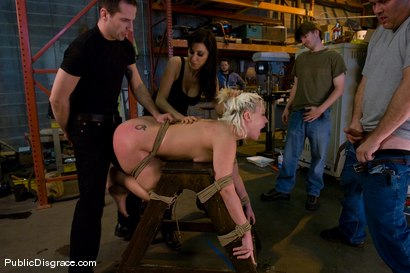 Photo number 11 from Krissy Leigh Fisted and Ass Fucked in Public! shot for Public Disgrace on Kink.com. Featuring Krissy Leigh and Maestro in hardcore BDSM & Fetish porn.