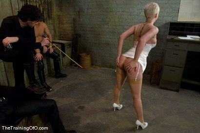 Photo number 11 from The Training of Cherry Torn, Day Four shot for The Training Of O on Kink.com. Featuring Cherry Torn, Tom Moore and Maestro in hardcore BDSM & Fetish porn.
