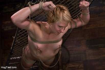 Photo number 6 from Vendetta is back!  She gets fucked & beat for her birthday shot for Hogtied on Kink.com. Featuring Vendetta in hardcore BDSM & Fetish porn.