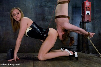 Photo number 12 from Maitresse Madeline vs Bronte shot for Wired Pussy on Kink.com. Featuring Maitresse Madeline Marlowe  and Bronte in hardcore BDSM & Fetish porn.