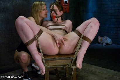 Photo number 8 from Maitresse Madeline vs Bronte shot for Wired Pussy on Kink.com. Featuring Maitresse Madeline Marlowe  and Bronte in hardcore BDSM & Fetish porn.