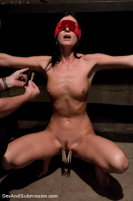 Photo number 5 from India Summers shot for Sex And Submission on Kink.com. Featuring India Summer and Mark Davis in hardcore BDSM & Fetish porn.