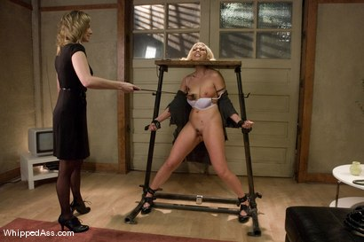 Photo number 1 from Satine Phoenix shot for Whipped Ass on Kink.com. Featuring Satine Phoenix and Maitresse Madeline Marlowe in hardcore BDSM & Fetish porn.