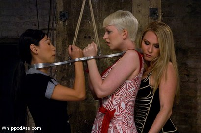 Photo number 1 from Companion Bitches shot for Whipped Ass on Kink.com. Featuring Cherry Torn, Harmony and Tia Ling in hardcore BDSM & Fetish porn.