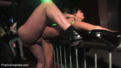 Photo number 12 from Beautiful brunnette, Jade Indica, is bound and fucked in a crowded bar shot for Public Disgrace on Kink.com. Featuring Miss Jade Indica and Mark Davis in hardcore BDSM & Fetish porn.
