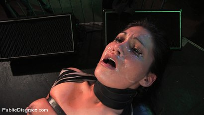 Photo number 15 from Beautiful brunnette, Jade Indica, is bound and fucked in a crowded bar shot for Public Disgrace on Kink.com. Featuring Miss Jade Indica and Mark Davis in hardcore BDSM & Fetish porn.