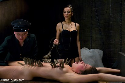 Photo number 4 from THE NEW COLLECTION: PART 1 shot for Wired Pussy on Kink.com. Featuring Vai, Princess Donna Dolore and Syd Blakovich in hardcore BDSM & Fetish porn.
