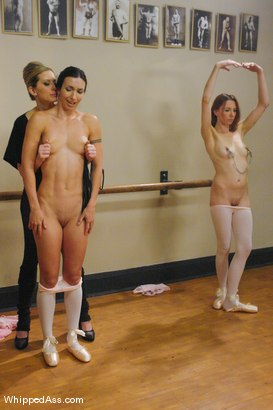 Photo number 3 from Ballerina Sluts shot for Whipped Ass on Kink.com. Featuring Wenona, Maitresse Madeline Marlowe  and Sasha Lexing in hardcore BDSM & Fetish porn.