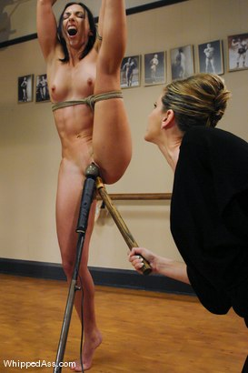 Photo number 8 from Ballerina Sluts shot for Whipped Ass on Kink.com. Featuring Wenona, Maitresse Madeline Marlowe  and Sasha Lexing in hardcore BDSM & Fetish porn.