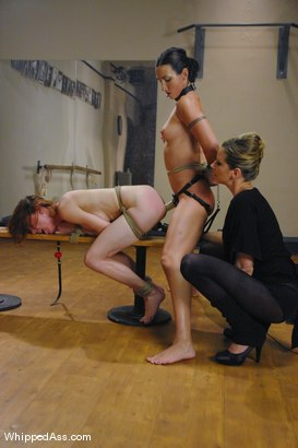 Photo number 11 from Ballerina Sluts shot for Whipped Ass on Kink.com. Featuring Wenona, Maitresse Madeline Marlowe  and Sasha Lexing in hardcore BDSM & Fetish porn.
