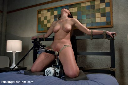 Photo number 14 from Brooke Adams - bound and machined shot for Fucking Machines on Kink.com. Featuring Brooke Lee Adams in hardcore BDSM & Fetish porn.