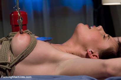 Photo number 4 from Brooke Adams - bound and machined shot for Fucking Machines on Kink.com. Featuring Brooke Lee Adams in hardcore BDSM & Fetish porn.