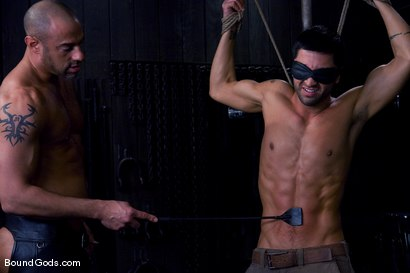 Photo number 1 from Ride the Horse Cock shot for Bound Gods on Kink.com. Featuring Dominic Pacifico and CJ Madison in hardcore BDSM & Fetish porn.