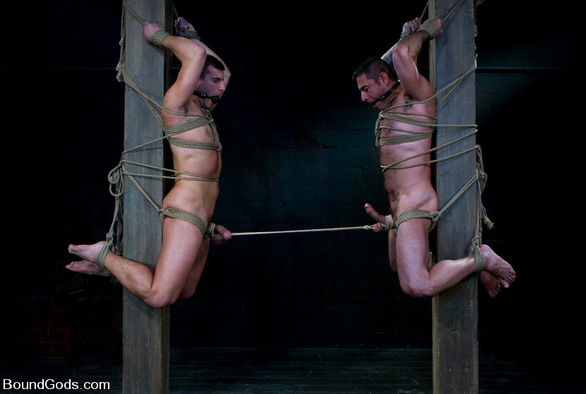 Naked Gay Male Bondage 59