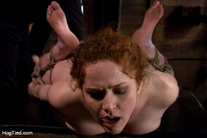 Photo number 11 from Hot Blooded Readhead Rita in for her first HT fucking! shot for Hogtied on Kink.com. Featuring Rita Seagrave in hardcore BDSM & Fetish porn.