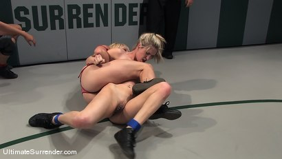 Photo number 5 from LIVE TAG TEAM LEAGUE <BR>The Ninja's(1-0)<br> vs <br> The Goddesses (0-0) shot for Ultimate Surrender on Kink.com. Featuring Vendetta, Isis Love, Claire Dames and Calico in hardcore BDSM & Fetish porn.