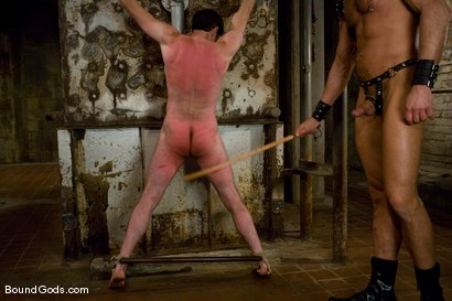 Photo number 7 from Deconstructing Dante shot for Bound Gods on Kink.com. Featuring Dante and Colin Steele in hardcore BDSM & Fetish porn.