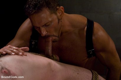 Photo number 6 from Deconstructing Dante shot for Bound Gods on Kink.com. Featuring Dante and Colin Steele in hardcore BDSM & Fetish porn.