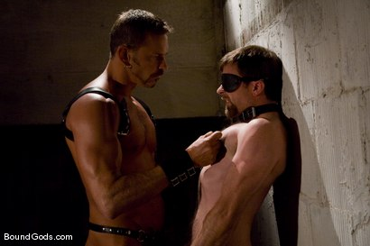 Photo number 1 from Deconstructing Dante shot for Bound Gods on Kink.com. Featuring Dante and Colin Steele in hardcore BDSM & Fetish porn.
