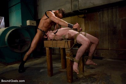 Photo number 9 from Deconstructing Dante shot for Bound Gods on Kink.com. Featuring Dante and Colin Steele in hardcore BDSM & Fetish porn.
