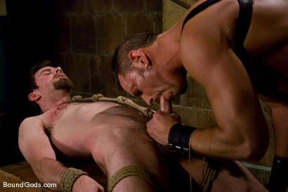 Photo number 10 from Deconstructing Dante shot for Bound Gods on Kink.com. Featuring Dante and Colin Steele in hardcore BDSM & Fetish porn.