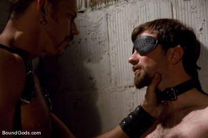 Photo number 2 from Deconstructing Dante shot for Bound Gods on Kink.com. Featuring Dante and Colin Steele in hardcore BDSM & Fetish porn.