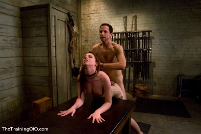 Photo number 11 from The Training of Amber Keen, Day Four shot for The Training Of O on Kink.com. Featuring Amber Keen and Maestro in hardcore BDSM & Fetish porn.