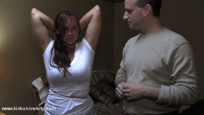 Photo number 12 from Lochai Demonstrates 2 Easy Ties You Can Learn in Minutes shot for Kink University on Kink.com. Featuring Lochai and Bella Rossi in hardcore BDSM & Fetish porn.