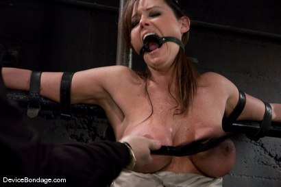 Photo number 8 from Christina Carter<br> Machine fucked and tortured. shot for Device Bondage on Kink.com. Featuring Christina Carter in hardcore BDSM & Fetish porn.