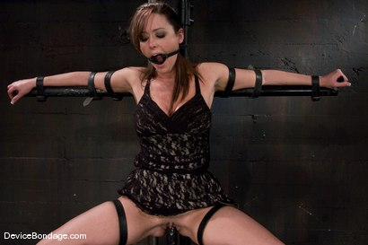 Photo number 1 from Christina Carter<br> Machine fucked and tortured. shot for Device Bondage on Kink.com. Featuring Christina Carter in hardcore BDSM & Fetish porn.