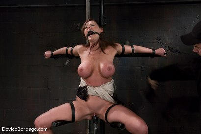 Photo number 11 from Christina Carter<br> Machine fucked and tortured. shot for Device Bondage on Kink.com. Featuring Christina Carter in hardcore BDSM & Fetish porn.