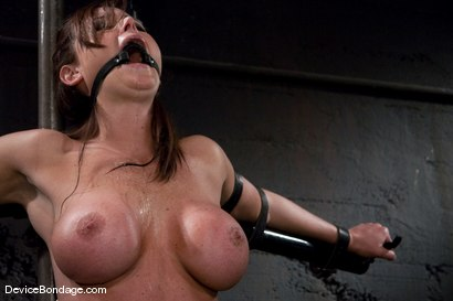 Photo number 12 from Christina Carter<br> Machine fucked and tortured. shot for Device Bondage on Kink.com. Featuring Christina Carter in hardcore BDSM & Fetish porn.