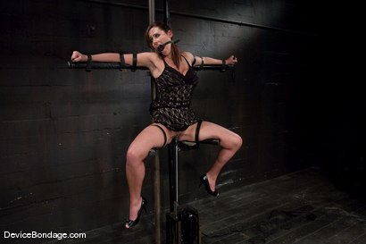 Photo number 5 from Christina Carter<br> Machine fucked and tortured. shot for Device Bondage on Kink.com. Featuring Christina Carter in hardcore BDSM & Fetish porn.