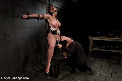 Photo number 9 from Christina Carter<br> Machine fucked and tortured. shot for Device Bondage on Kink.com. Featuring Christina Carter in hardcore BDSM & Fetish porn.