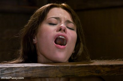 Photo number 9 from The Virgin shot for Wired Pussy on Kink.com. Featuring Harmony and Rebecca Blue in hardcore BDSM & Fetish porn.