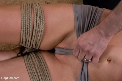 Photo number 7 from Tahoe: Exiled from Dick Mountain pt 2 Getting Comfortable shot for Hogtied on Kink.com. Featuring Kristine, Dia Zerva, Amber Keen and Nina in hardcore BDSM & Fetish porn.