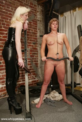 Photo number 4 from Kat and Cowgirl shot for Whipped Ass on Kink.com. Featuring Kat and Cowgirl in hardcore BDSM & Fetish porn.