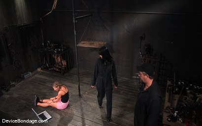 Photo number 3 from Ariel X, Annie Cruz<br> Part 1 of 4 of the March Live Feed shot for Device Bondage on Kink.com. Featuring Ariel X, Annie Cruz and Isis Love in hardcore BDSM & Fetish porn.