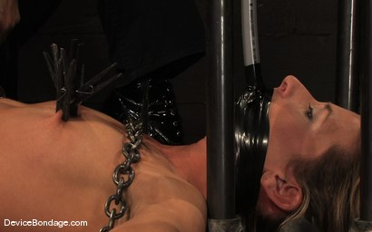 Photo number 1 from Ariel X, Annie Cruz -<br><br>-Countdown to Relaunch - 7 of 20 shot for Device Bondage on Kink.com. Featuring Ariel X, Annie Cruz and Isis Love in hardcore BDSM & Fetish porn.