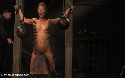 Photo number 13 from Ariel X, Annie Cruz -<br><br>-Countdown to Relaunch - 7 of 20 shot for Device Bondage on Kink.com. Featuring Ariel X, Annie Cruz and Isis Love in hardcore BDSM & Fetish porn.