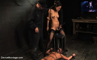 Photo number 3 from Ariel X, Annie Cruz -<br><br>-Countdown to Relaunch - 7 of 20 shot for Device Bondage on Kink.com. Featuring Ariel X, Annie Cruz and Isis Love in hardcore BDSM & Fetish porn.